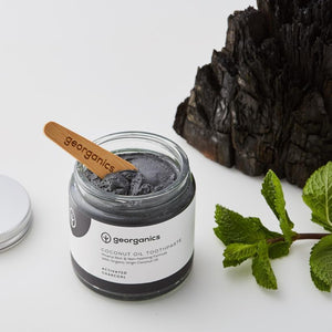 Georganics Natural Mineral-rich Toothpaste - Activated Charcoal-Health & Beauty > Personal Care > Oral Care > Toothpaste-Eqo Online