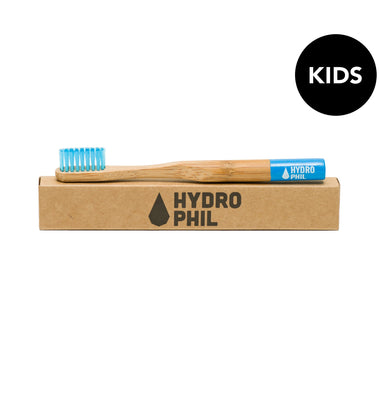 Hydrophil Sustainable Kids Bamboo Toothbrush-Health & Beauty > Personal Care > Oral Care > Toothbrushes-Eqo Online