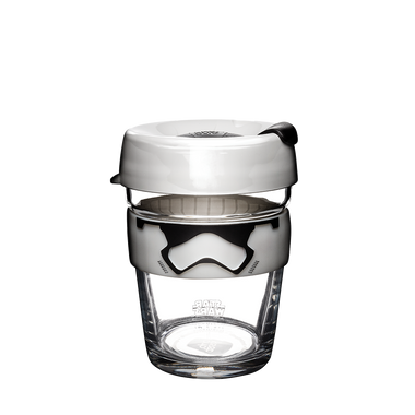 KeepCup - Brew - Star Wars - Stormtrooper - 12oz - Limited Edition-Home & Garden > Kitchen & Dining > Tableware > Drinkware > Coffee & Tea Cups-Eqo Online