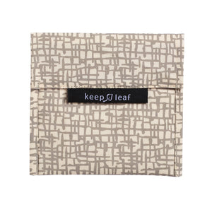 KeepLeaf - Reusable Baggie (Snack, Sandwich) - Large-Home & Garden > Kitchen & Dining > Food Storage > Food Wraps-Eqo Online