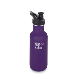 Klean Kanteen Classic Sport Bottle 532ml-Home & Garden > Kitchen & Dining > Food & Beverage Carriers > Water Bottles-Eqo Online