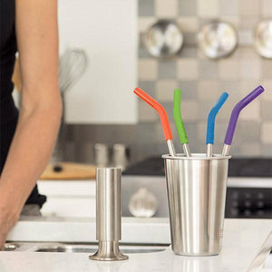 Klean Kanteen Reusable Straw Set-Arts & Entertainment > Party & Celebration > Party Supplies > Drinking Straws & Stirrers-Eqo Online