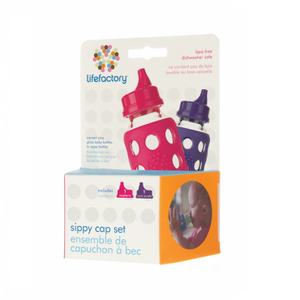 Lifefactory Sippy Caps - 2 pack-Baby & Toddler-Eqo Online