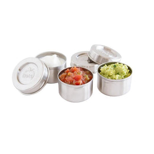 LunchBots - Leak Proof - Stainless Steel Dip Containers - Set of 3-Home & Garden > Kitchen & Dining > Food & Beverage Carriers > Lunch Boxes & Totes-Eqo Online