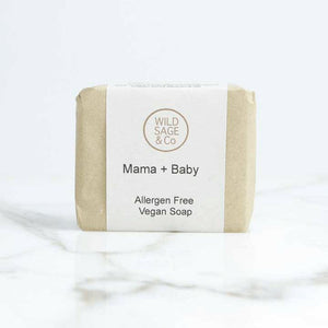 Mama & Baby Natural Soap - Wild Sage & Co-Health & Beauty > Personal Care > Cosmetics > Bath & Body > Bar Soap-Eqo Online