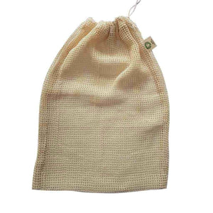 Organic cotton Mesh Produce Bags - Set of 3-Home & Garden > Household Supplies > Storage & Organization > Household Storage Bags-Eqo Online