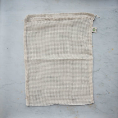 Organic Mesh Produce Bag - Large-Home & Garden > Household Supplies > Storage & Organization > Household Storage Bags-Eqo Online