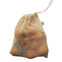 Load image into Gallery viewer, Organic Mesh Produce Bag - Medium-Home & Garden > Household Supplies > Storage & Organization > Household Storage Bags-Eqo Online