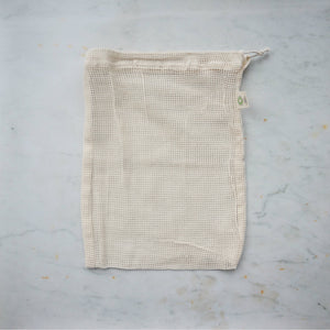Organic Mesh Produce Bag - Medium-Home & Garden > Household Supplies > Storage & Organization > Household Storage Bags-Eqo Online