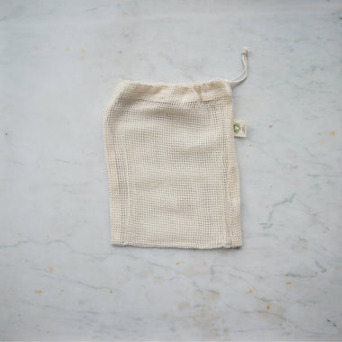 Organic Mesh Produce Bag - Small-Home & Garden > Household Supplies > Storage & Organization > Household Storage Bags-Eqo Online