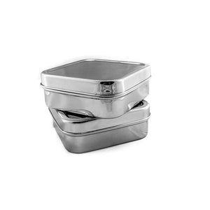Square Salad & Sandwich Tin - My Cleverbox-Home & Garden > Kitchen & Dining > Food & Beverage Carriers > Lunch Boxes & Totes-Eqo Online