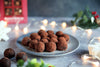 Raspberry and Dark Chocolate Popcorn Truffles Recipe