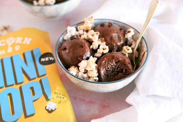 Vegan Popcorn Ice Cream