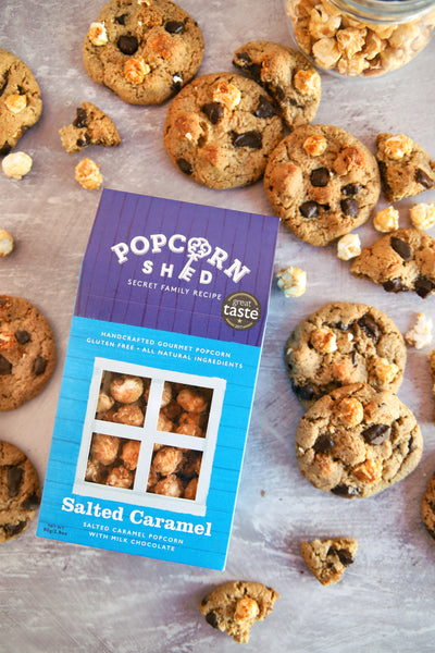 Salted Caramel Popcorn cookie recipe