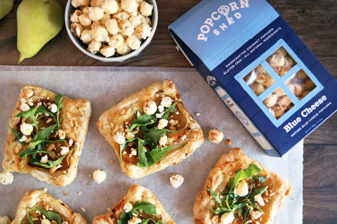 Pear and Blue Cheese tarts recipe