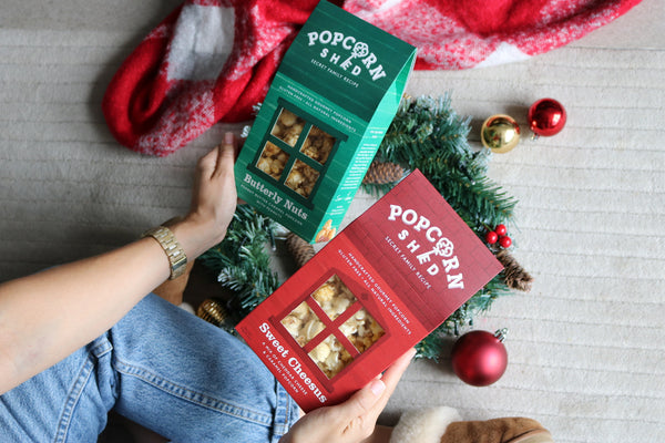 Gourmet Popcorn Christmas Gifts