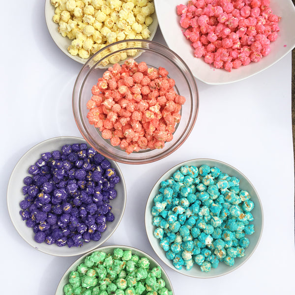 Multi Coloured Popcorn