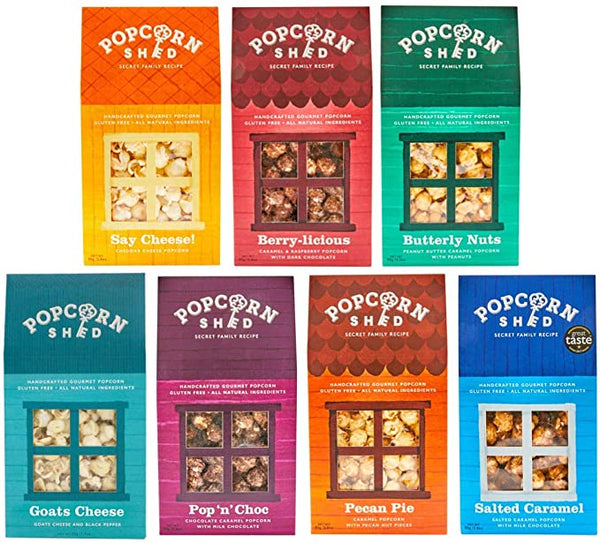 7-Shed Variety Pack - Popcorn Shed Gourmet Popcorn Gifts
