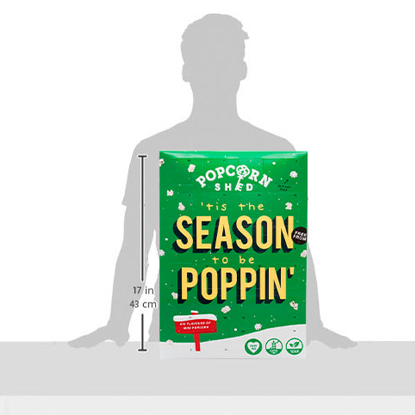 Mini Pop! Free From Advent Calendar - Popcorn Shed Gourmet Popcorn Gifts