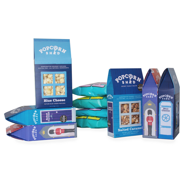 The Blue Bundle - Popcorn Shed Gourmet Popcorn Gifts