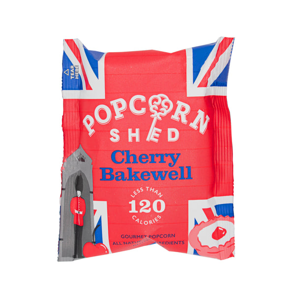 Cherry Bakewell Snack Packs - Popcorn Shed Gourmet Popcorn Gifts