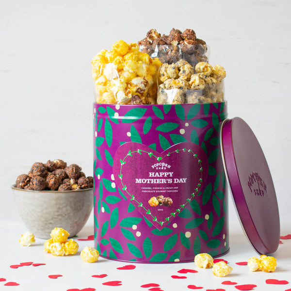 Happy Mother's Day Popcorn Gift Tin - Popcorn Shed