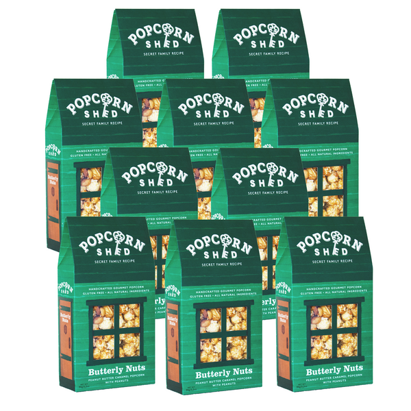 Butterly Nuts 10 Shed Bundle - Popcorn Shed Gourmet Popcorn Gifts
