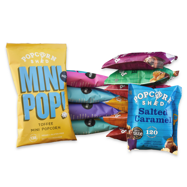 Low Calorie Snack Bundle - Popcorn Shed Gourmet Popcorn Gifts