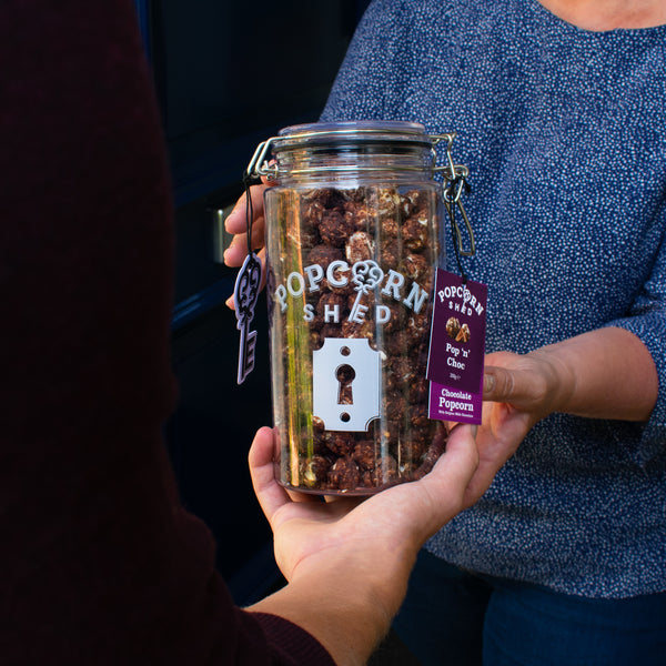 Pop 'N' Choc Gift Jar - Popcorn Shed