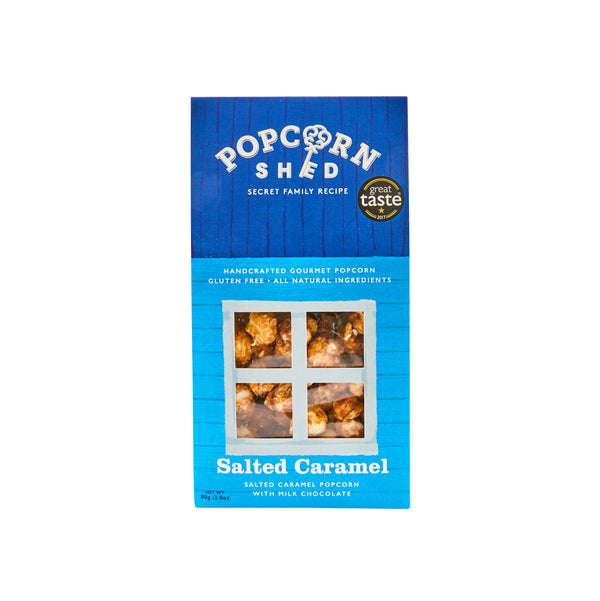 Pop N Choc & Salted Caramel 8 Shed Bundle - Popcorn Shed Gourmet Popcorn Gifts