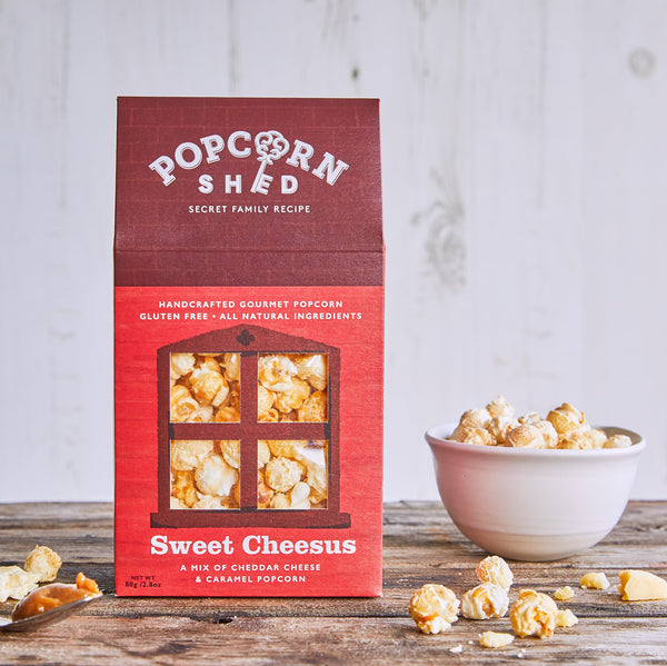 Sweet Cheesus Shed - Popcorn Shed Gourmet Popcorn Gifts