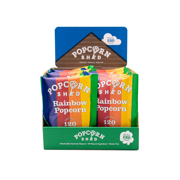 Rainbow Snack Packs - Popcorn Shed Gourmet Popcorn Gifts