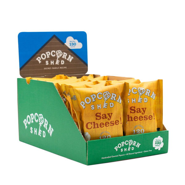 Say Cheese! Snack Packs - Popcorn Shed Gourmet Popcorn Gifts