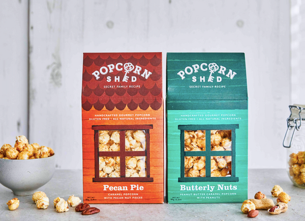 Pecan Pie & Butterly Nuts 8 Shed Bundle - Popcorn Shed