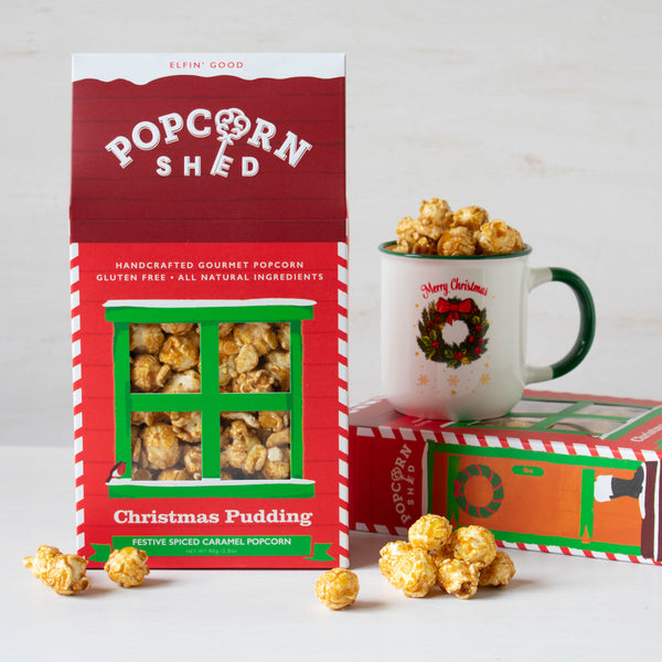 Christmas Pudding Shed - Popcorn Shed