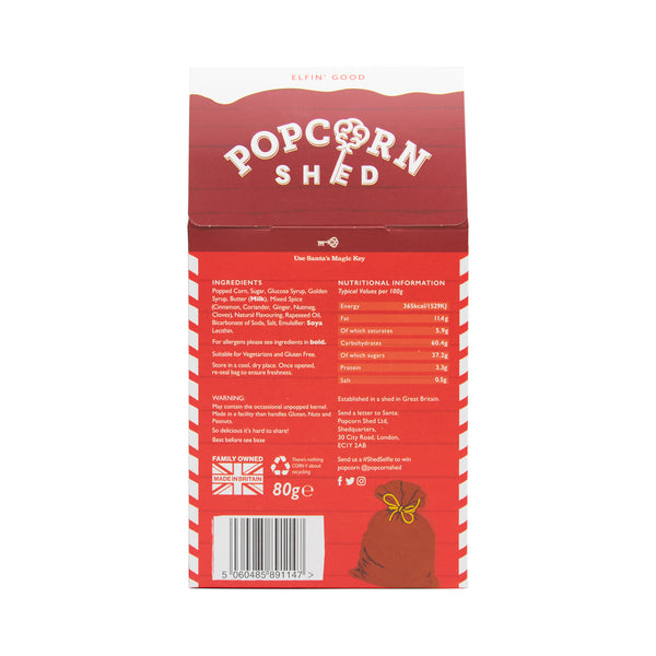 Christmas Pudding Shed - Popcorn Shed Gourmet Popcorn Gifts
