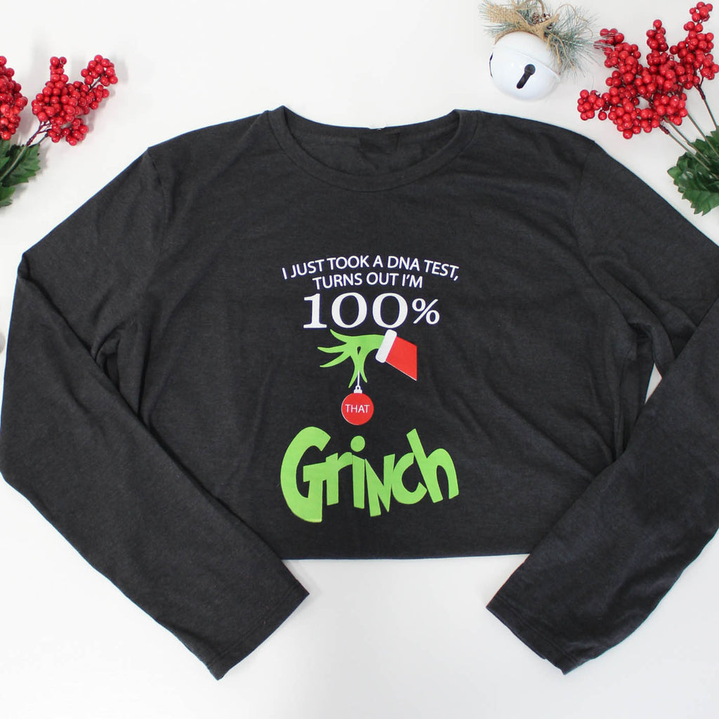 100% That Grinch Long Sleeve Tee