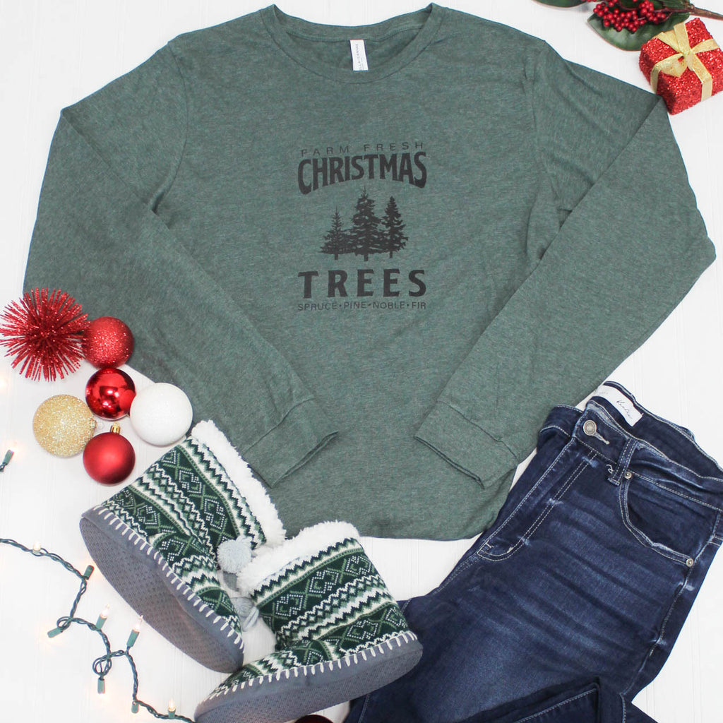 Christmas Tree Farm Long Sleeve