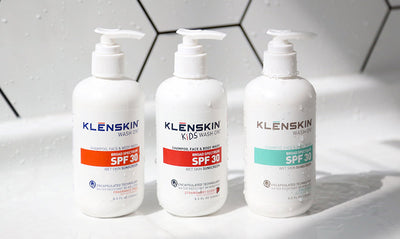KLĒNSKIN Wash On Sunscreens