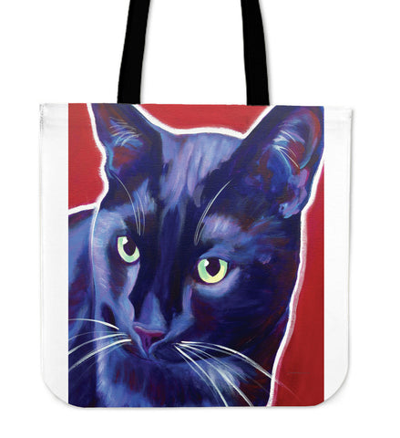 Caleb The Cat Tote Bag