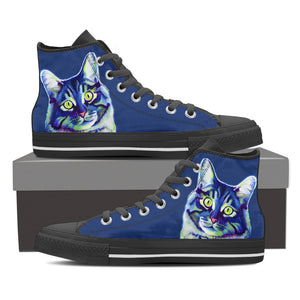 Cat High Top Shoe Women's Black