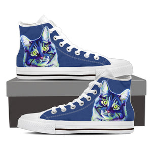 Cat High Top Shoe Women's White