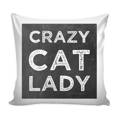 Crazy Cat Lady Pillow