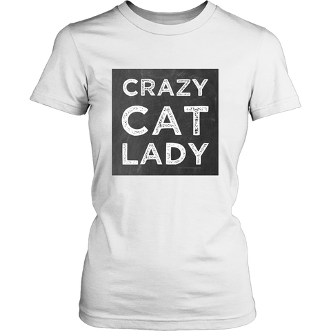 Crazy Cat Lady T's & Tank