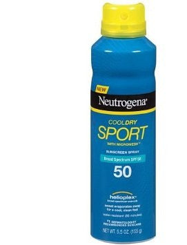 Neutrogena CoolDry Sport SPF 50 Sunscreen Spray