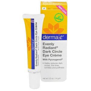 derma e Evenly Radiant Dark Circle Eye Crème Moisturizing Eye Treatment - AmericanShop ByHanan