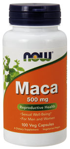 Now Maca 500 mg Veg Capsules