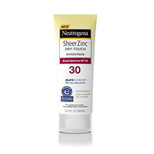 Neutrogena Sheer Zinc Dry-Touch SPF 30 Sunscreen