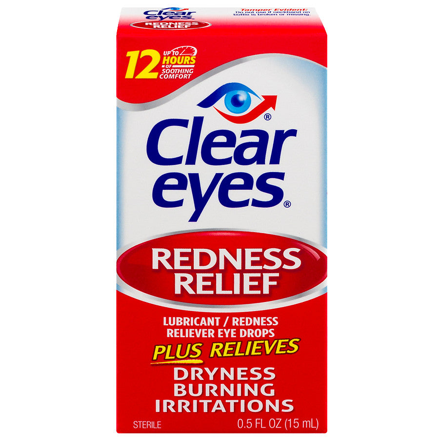 Clear eyes Redness Relief Eye Drops - AmericanShop ByHanan