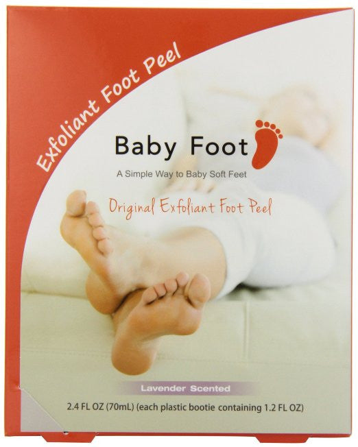 Baby Foot Deep Exfoliation for Feet peel, lavender scented - AmericanShop ByHanan